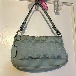 Authentic coach little purse